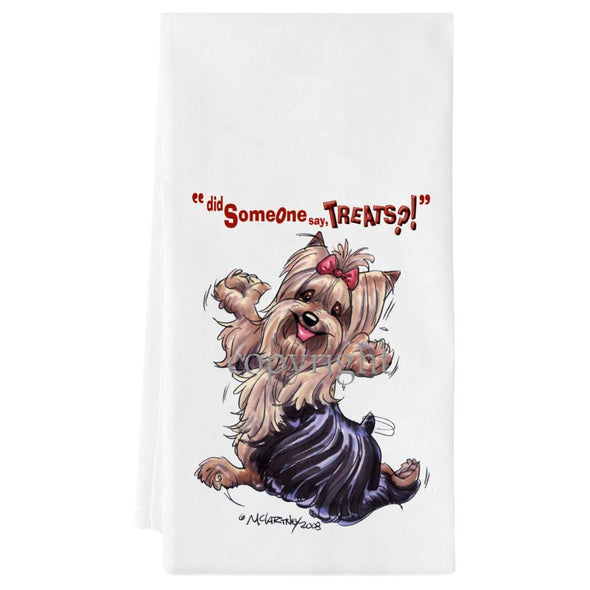 Yorkshire Terrier - Treats - Towel