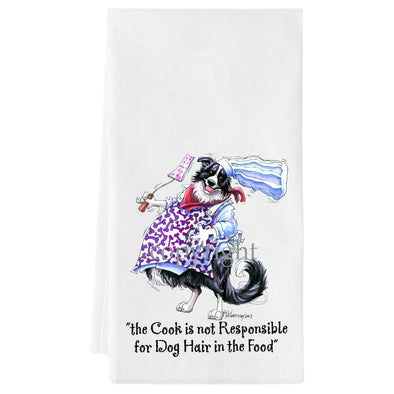 Border Collie - Fat Chefs - Towel