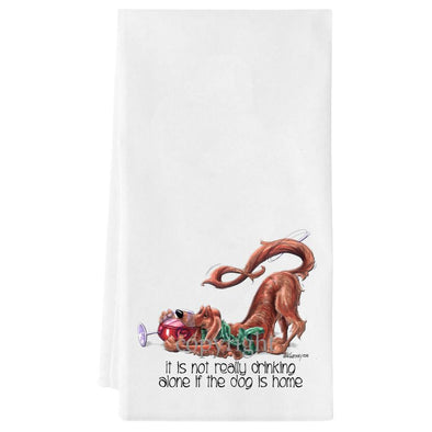 Irish Setter - It's Not Drinking Alone - Towel