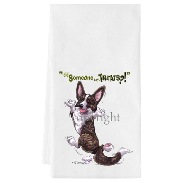 Welsh Corgi Cardigan - Treats - Towel