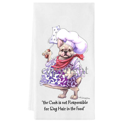 French Bulldog - Fat Chefs - Towel