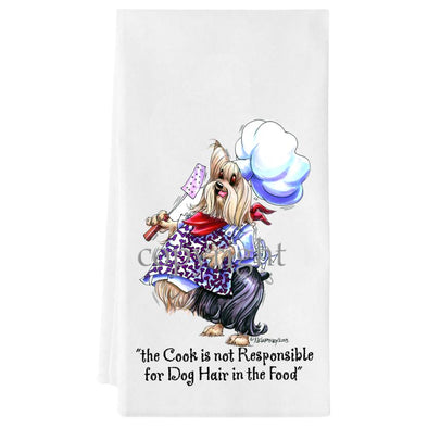 Yorkshire Terrier - Fat Chefs - Towel