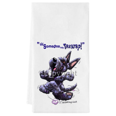 Scottish Terrier - Treats - Towel