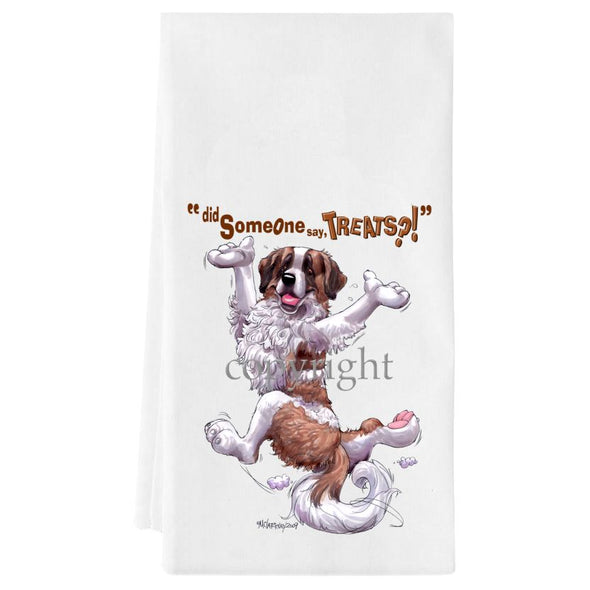 Saint Bernard - Treats - Towel