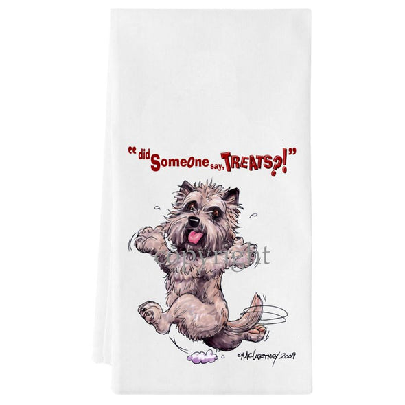 Cairn Terrier - Treats - Towel