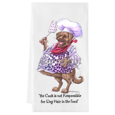Chesapeake Bay Retriever - Fat Chefs - Towel