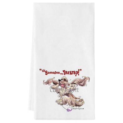 Cocker Spaniel - Treats - Towel