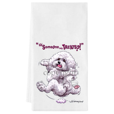 Bichon Frise - Treats - Towel