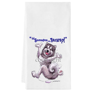 Alaskan Malamute - Treats - Towel