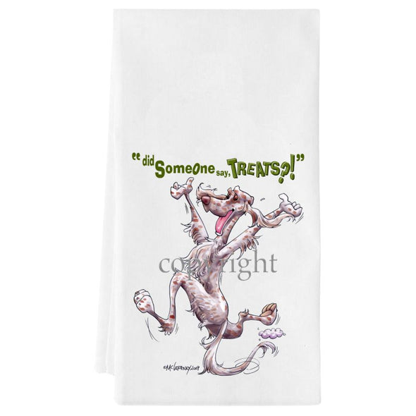 English Setter - Treats - Towel