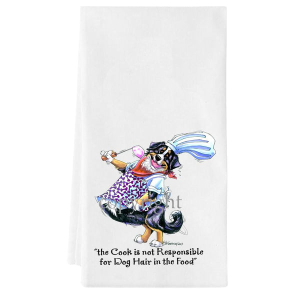 Bernese Mountain Dog - Fat Chefs - Towel