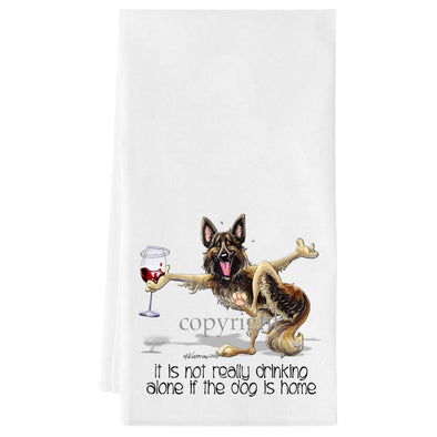 Belgian Tervuren - It's Not Drinking Alone - Towel