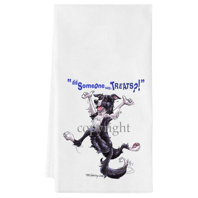 Border Collie - Treats - Towel
