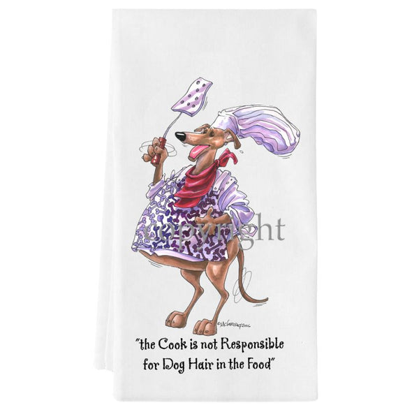 Greyhound - Fat Chefs - Towel
