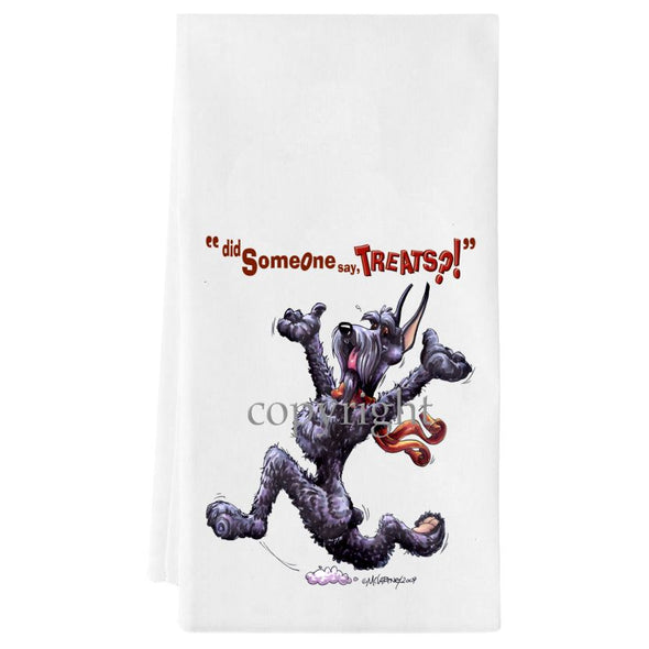 Giant Schnauzer - Treats - Towel