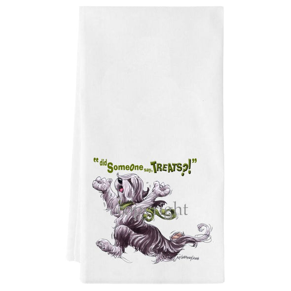 Bearded Collie - Treats - Towel