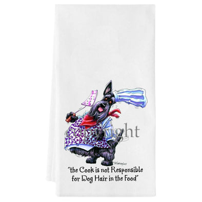 Scottish Terrier - Fat Chefs - Towel