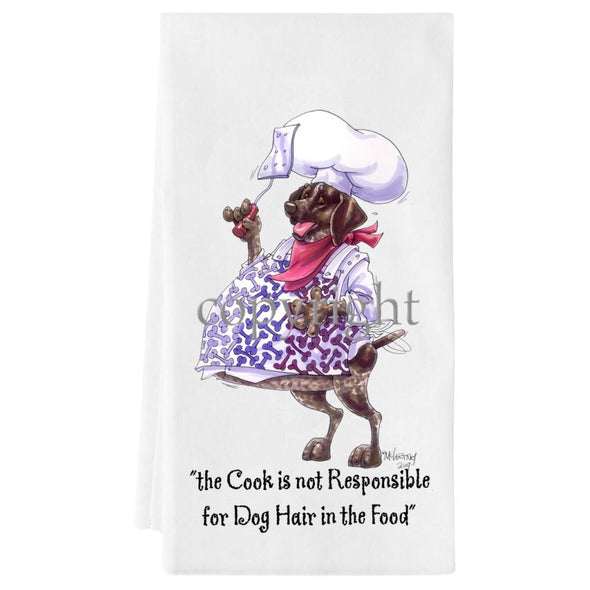 German Shorthaired Pointer - Fat Chefs - Towel