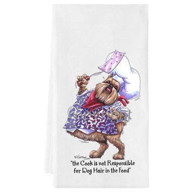 Brussels Griffon - Fat Chefs - Towel