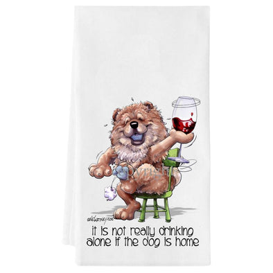 Chow Chow - It's Not Drinking Alone - Towel