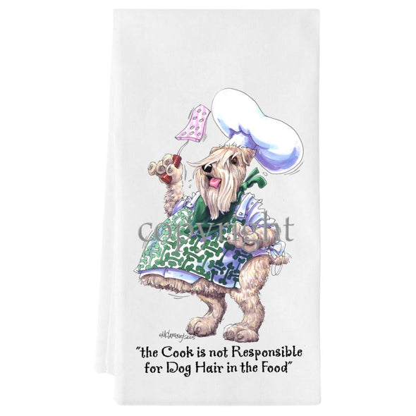 Soft Coated Wheaten - Fat Chefs - Towel