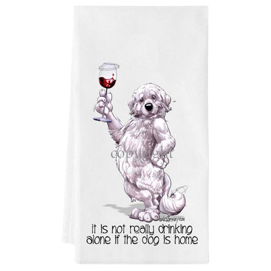 Great Pyrenees - It's Not Drinking Alone - Towel