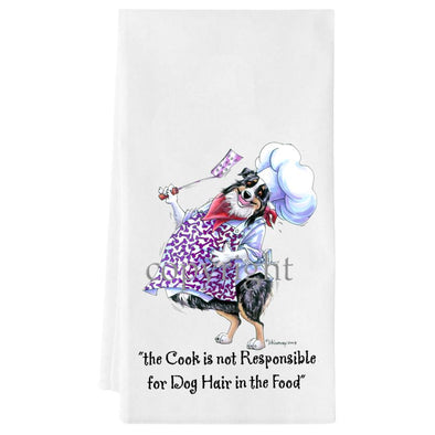 Australian Shepherd  Black Tri - Fat Chefs - Towel