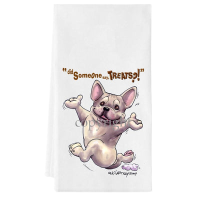 French Bulldog - Treats - Towel