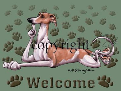 Whippet - Welcome - Mat
