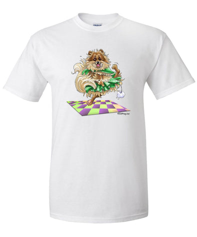 Pomeranian - Dancing Jig - Mike's Faves - T-Shirt