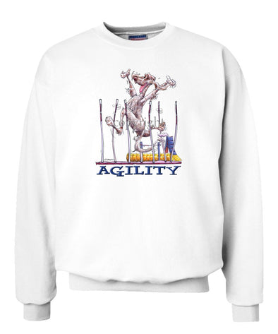 English Setter - Agility Weave II - Sweatshirt