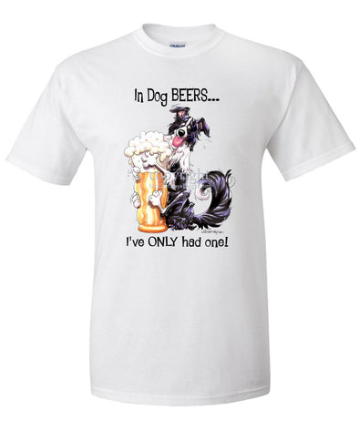 Border Collie - Dog Beers - T-Shirt