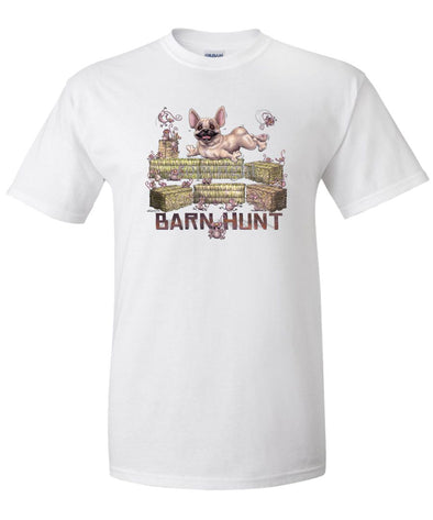 French Bulldog - Barnhunt - T-Shirt