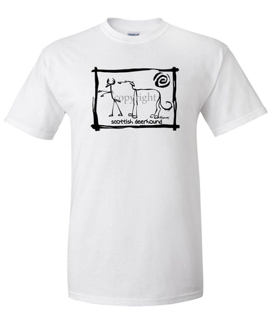 Scottish Deerhound - Cavern Canine - T-Shirt