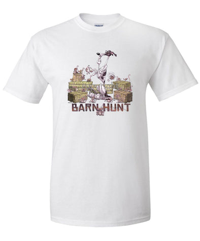 Greyhound - Barnhunt - T-Shirt