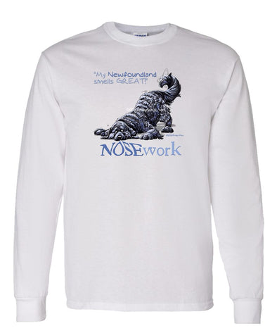 Newfoundland - Nosework - Long Sleeve T-Shirt