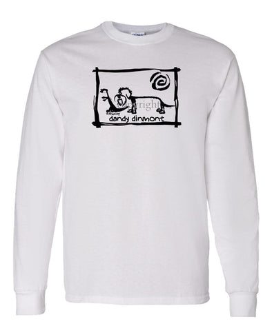 Dandy Dinmont - Cavern Canine - Long Sleeve T-Shirt
