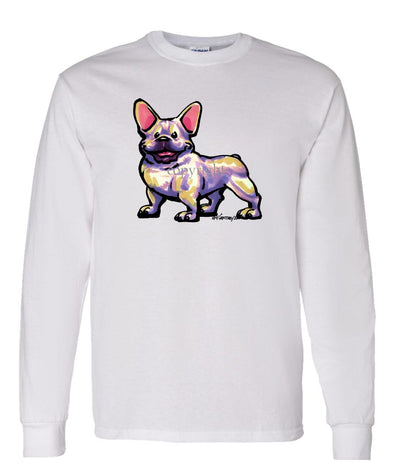 French Bulldog - Cool Dog - Long Sleeve T-Shirt