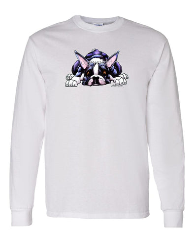 Boston Terrier - Rug Dog - Long Sleeve T-Shirt