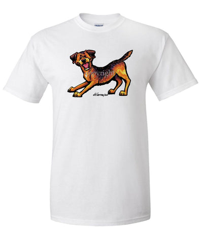 Border Terrier - Cool Dog - T-Shirt