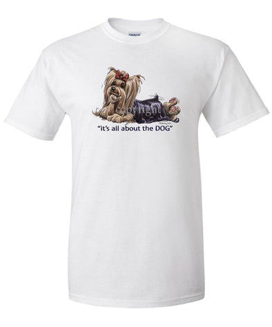 Yorkshire Terrier - All About The Dog - T-Shirt
