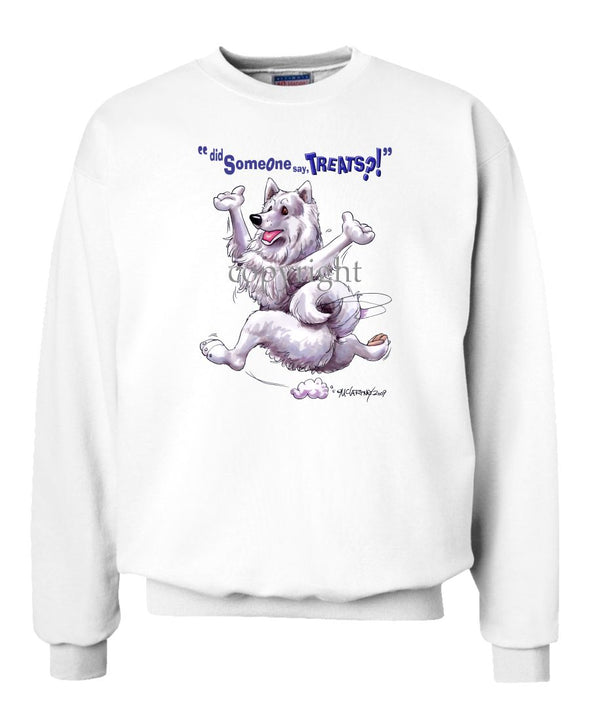 Samoyed - Treats - Sweatshirt