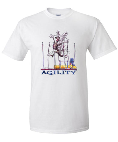 Chinese Crested - Agility Weave II - T-Shirt