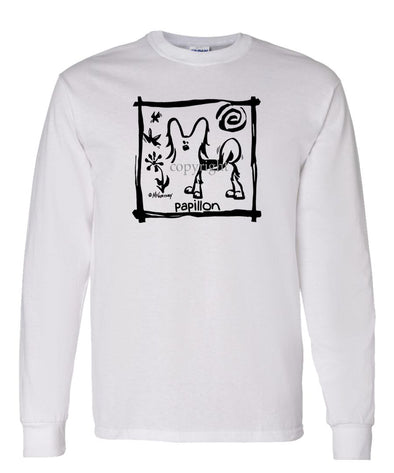 Papillon - Cavern Canine - Long Sleeve T-Shirt