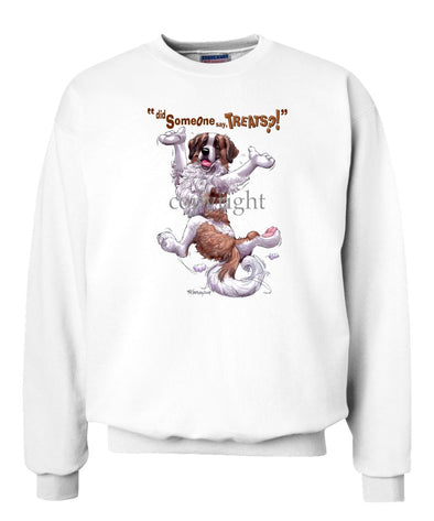 Saint Bernard - Treats - Sweatshirt