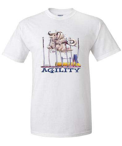 Lhasa Apso - Agility Weave II - T-Shirt