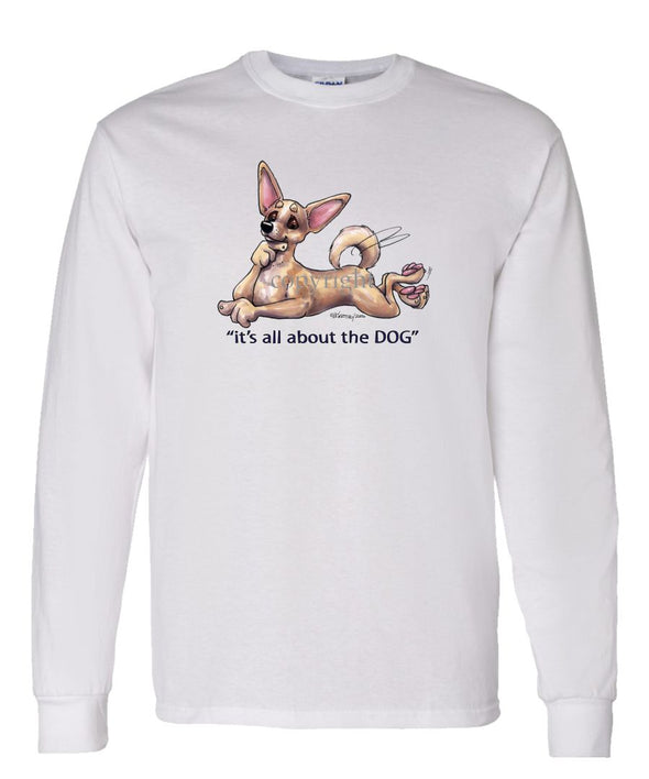Chihuahua  Smooth - All About The Dog - Long Sleeve T-Shirt