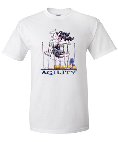 English Springer Spaniel - Agility Weave II - T-Shirt