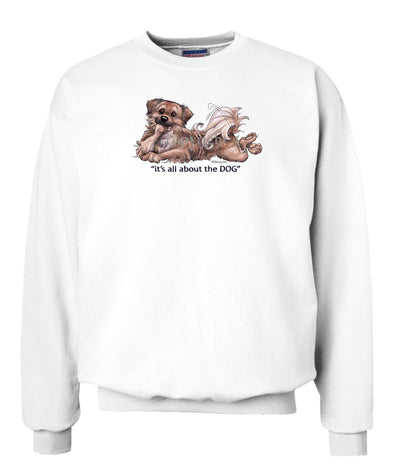 Tibetan Spaniel - All About The Dog - Sweatshirt