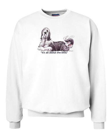 Bearded Collie - All About The Dog - Sweatshirt